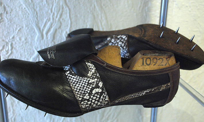 Vintage Norman Walsh running shoes