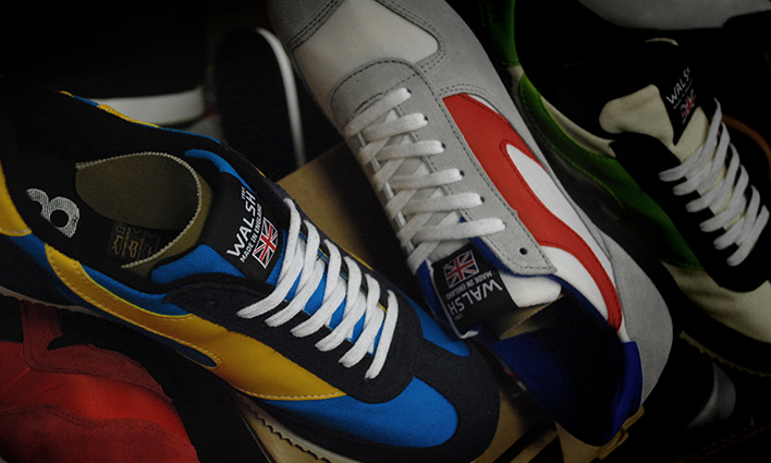 Norman Walsh trainers handmade in England