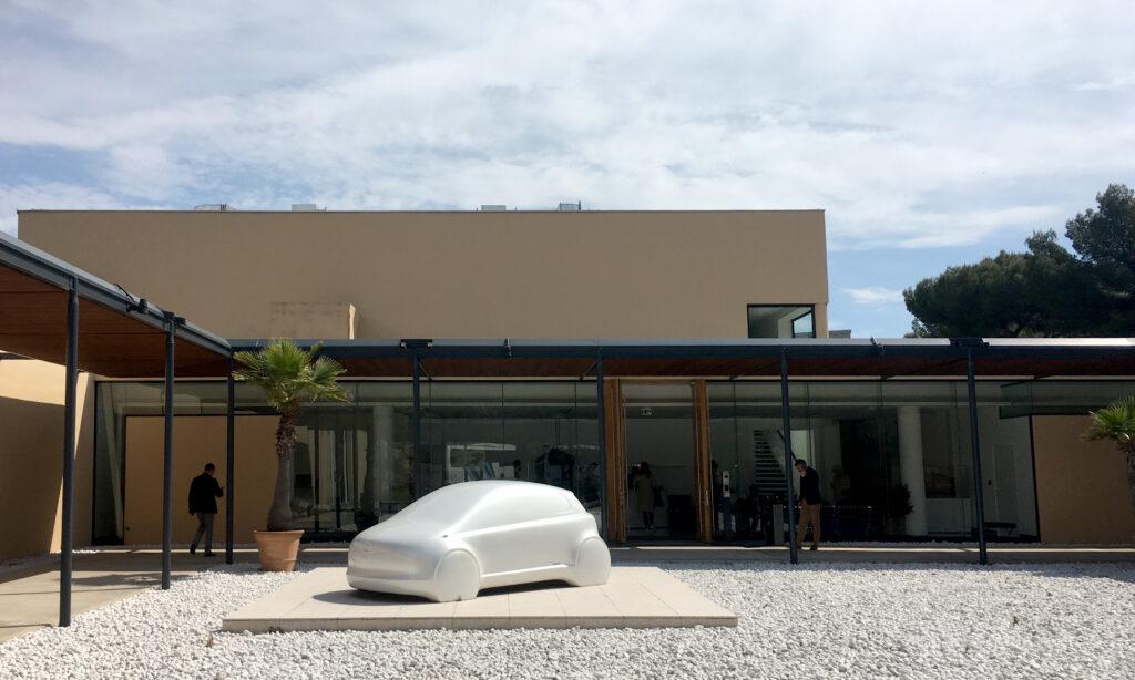 The Lexus design studio, ED2 bathed in sunshine