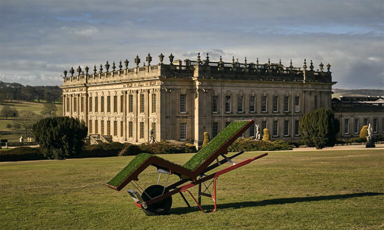 Make Yourself Comfortable Chatsworth Chaise Lawn by Deger Cengiz