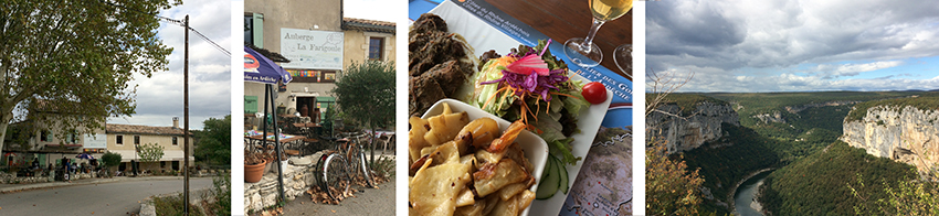 Auberge la Farigoule restaurant Bidon France