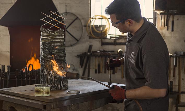 Lexus In Search of Takumi Episode Three Blacksmith Will Barker Metal