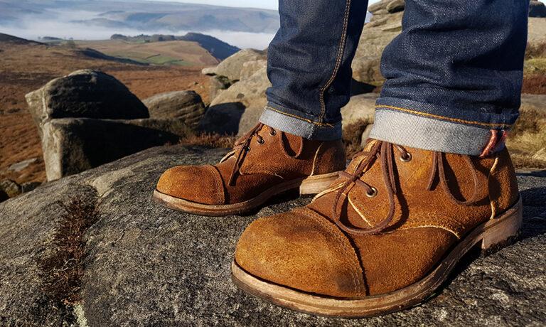 William Lennon boots. Handmade in England