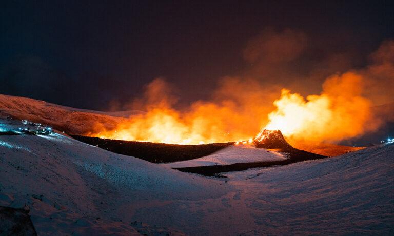 Iceland Volcano Eruption Mount Fagradalsfjall 2021