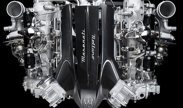 Maserati Nettuno Engine with F1 technology