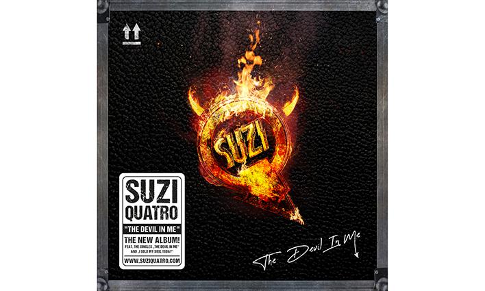 Suzi Quatro New Album The Devil In Me