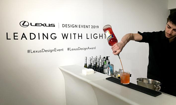 2019 Lexus design awards party Milan design week
