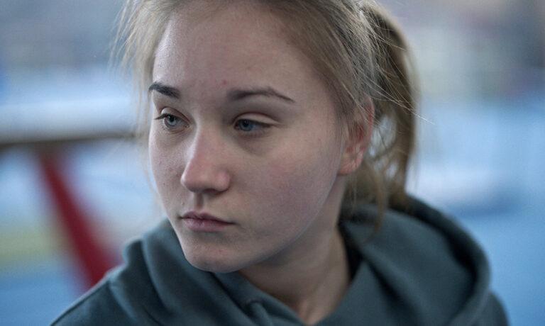 Anastasia Budiashkiva stars in Olga Gymnast film