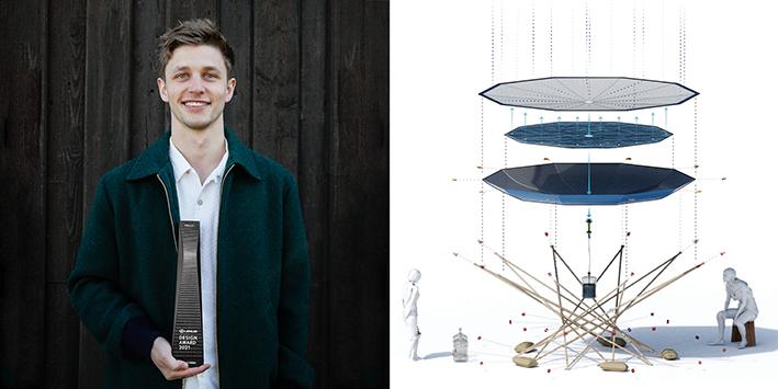 Henry Glogau Lexus Design Awards winner 2021
