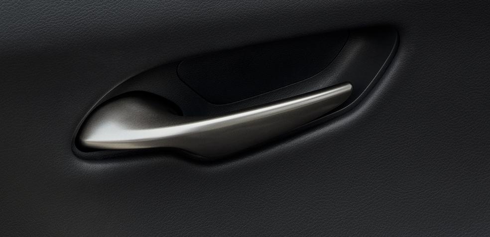 Takumi craftsmanship and design perfectly balanced in the Lexus UX door handles