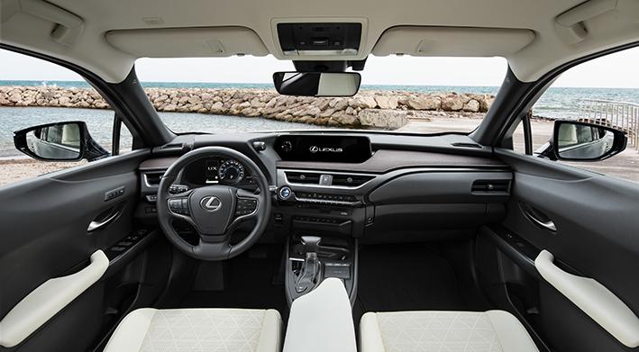 Lexus UX interior design